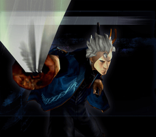 Devil May Cry 3 SE - Yamato Vergil Mission Clear 1 by Elvin-Jomar