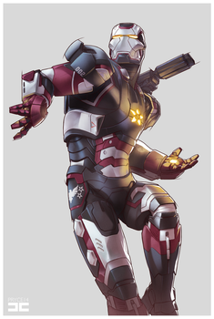 IRON PATRIOT by Pryce14