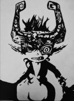 Midna Painting by JinxedFool