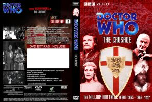 Doctor Who - The Crusade Region 1 DVD Cover by DJToad