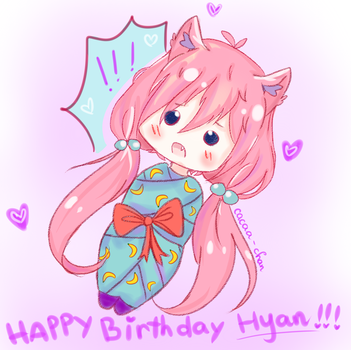 Happy Birthday Hyan !! by Cacaa-chan