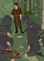 Zuko' Army by chees3boy2222