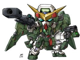 Gundam Dynames Camo Color by mostlymade
