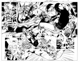 BN SUPERMAN PAGES 11 AND 12 by eddybarrows