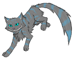 Le Chat de Cheshire by HalfandHalf-Kaneki