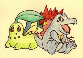 Second Gen Starters by agataylor