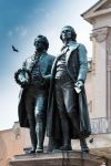 Goethe and Schiller by paschlewwer
