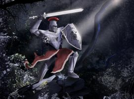 Wild Knight by TheArtOfaMadMan