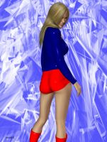 Supergirl in Hotpants 2 by Hotrod5 by kclcmdr