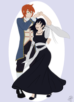 Commission - Xion and Luke by ignitible