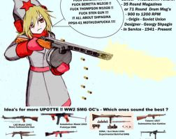 Color Upotte OC PPSH 41 Shpagina by jmantime-is-Here