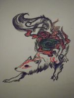 Amaterasu by WitchOfTragedy