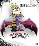 Eek and Loon Welcomes you to Hellsville by JScomics