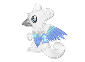Gryphon has hatched for MsPeepers by Parroti