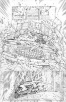 Funhouse of Horrors Issue 4 Page 4 Pencils by RudyVasquez
