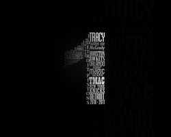 04. Tracy McGrady Typography by sfegraphics