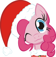Merry Christmas From Pinke Pie Everypony! by Phoenix0117