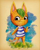 Animal Crossing Tangy by RootisTabootus