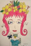 Elf of the Flowers by thegothickitty33
