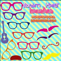 RANDOM-HIPSTER BRUSHES by MonstaHooka