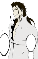 Aizen coloring 1 by syren888