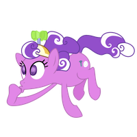 one crazy looking pony vector by shadowandtwilight
