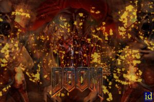 doom poster by frumpy