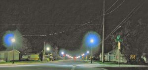 New street lights in Elgin by wallawallabigguy