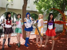 Fanime 2010: Sailor Scouts 01 by elfgrove