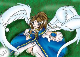 Belldandy -Gift for Haley- by Dawnrie