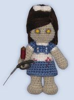 Amigurumi Little Sister by ShadyCreations