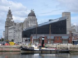 Liverpool Pier Head by rlkitterman