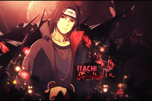 Itachi Uchiha Signature by YataMirror