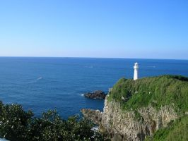 Lighthouse in Mie by OnlyTheGhosts