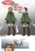 PewdieCry_Attack on titans by aulauly7