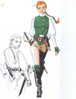 Early Lady S Design by LadySabre