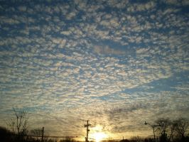Crappy Cell Phone Series Clouds by BonnyJohn