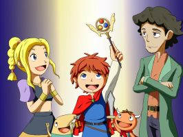 Ni No Kuni - Coloured by J-RuIVI