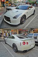 White GT-R by gupa507
