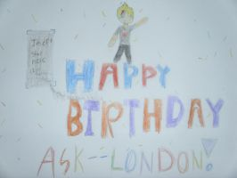 Happy Birthday Ask--London! by Petpettails123