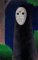 No Face...Voorhees? by AngelLux13