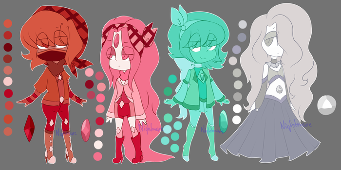 / Gem Adopts / Auction / OPEN / 2/4 / by LadyBlanc
