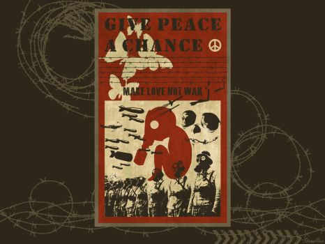 Give Peace A Chance by GreenSun2012