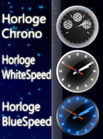 Horloge Vista for Rainmeter by Tone94