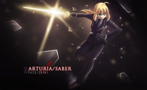 Saber - Fate Zero by dmy-gfx