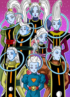 Angels of Dragon Ball - Universe Survival Saga 2 by Cheetah-King