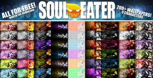Soul-Eater 10k Wallpaper Pack (Read Description) by alekSparx