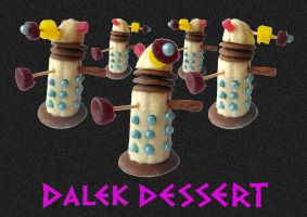 Dalek Dessert by mikedaws