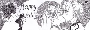 MoE : Happy Wedding by sendichic