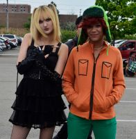 Death Park: Misa Amane and Kyle Broflovski by SovietMentality